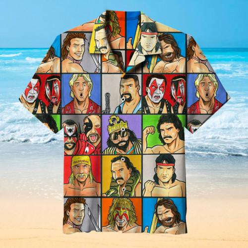 WWE The Golden Era  Universal Hawaiian Shirt