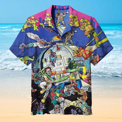 Vintage Ninja Turtles |Universal Hawaiian Shirt