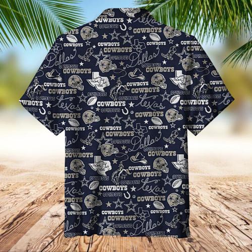 Dallas Cowboys  Universal Hawaiian Shirt