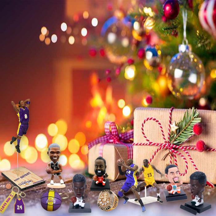 2021 Christmas Basketball Fan Advent Calendar