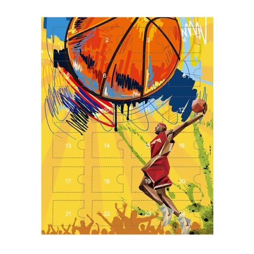 Basketball Advent Calendar