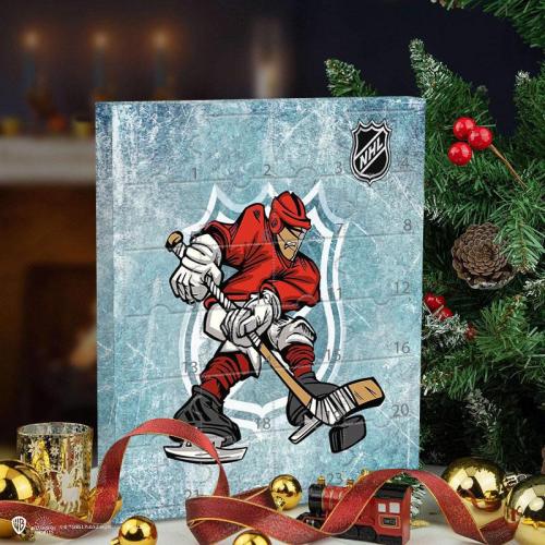NHL Christmas Advent Calendar -- The One With 24 Little Doors