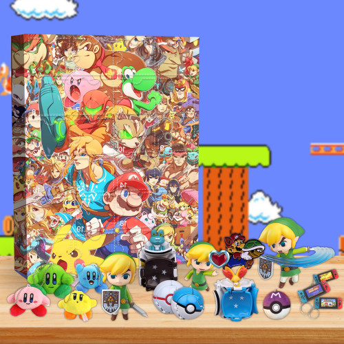 2021 Nintendo Games Advent Calendar -- The One With 24 Little Doors