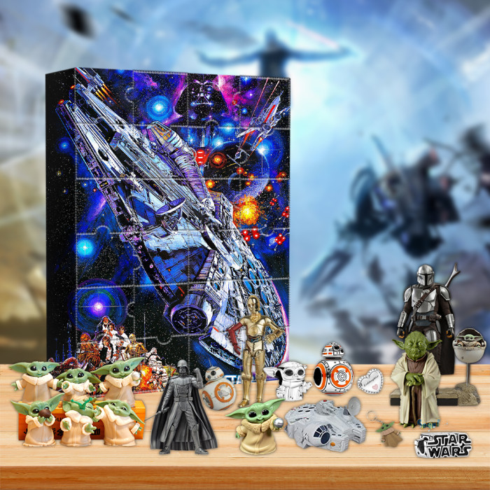 2021 Star wars Advent Calendar -- The One With 24 Little Doors