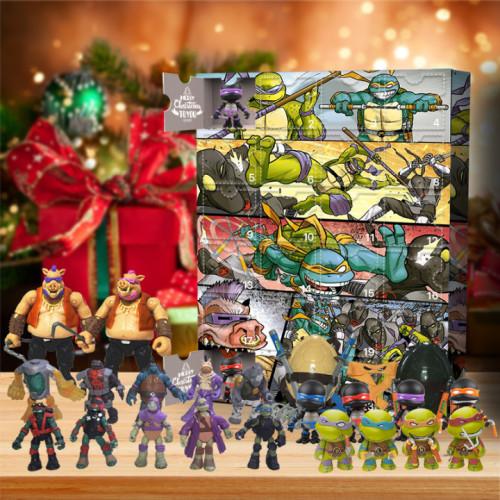 2021 Teenage Mutant Ninja Turtles Advent Calendar -- The One With 24 Little Doors