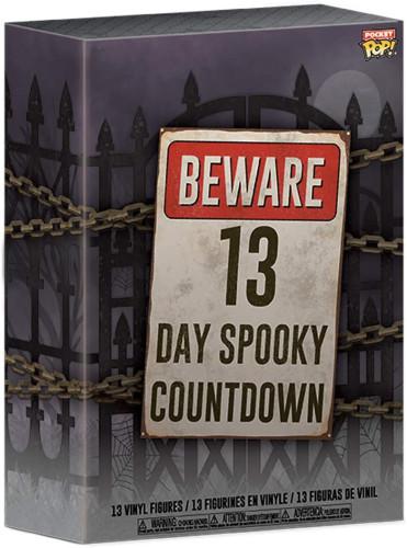 13 Day Spooky Halloween  Advent Calendar