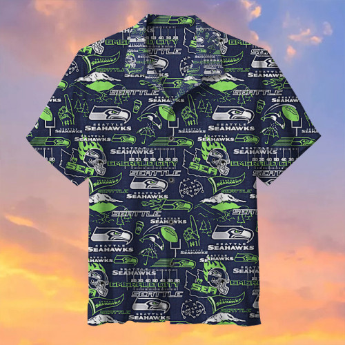 Seattle Seahawks  Universal Hawaiian Shirt