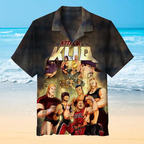 Attack of the Kliq |Universal Hawaiian Shirt