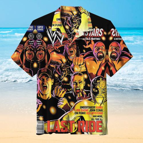 WWE Superstar |Universal Hawaiian Shirt
