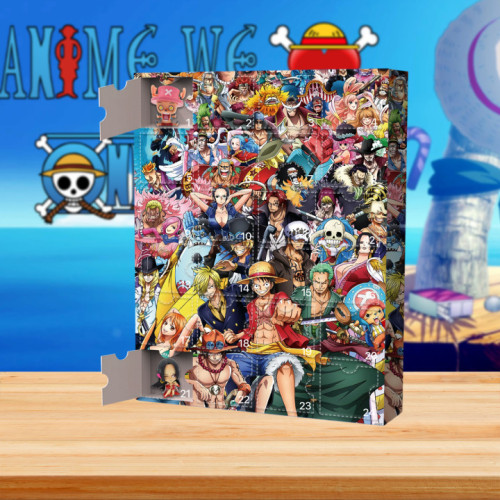 2021 One Piece Advent Calendar -- The One With 24 Little Doors