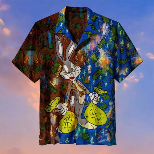Bugs Bunny Rainy Days  Universal Hawaiian Shirt