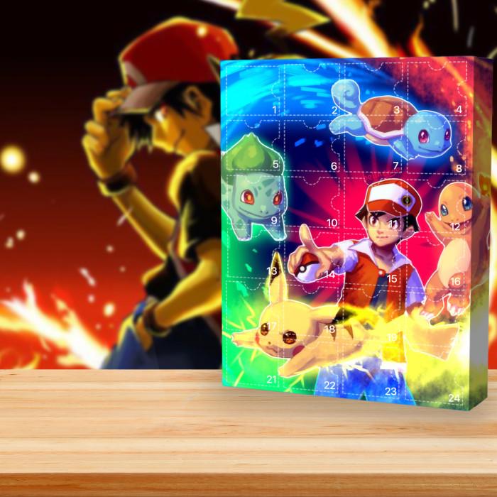 2021 Pokémon Advent Calendar -- The One With 24 Little Doors