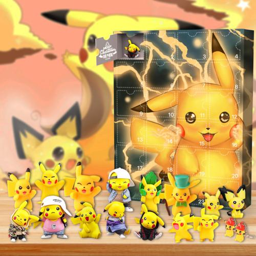 2021 Pikachu Advent Calendar -- The One With 24 Little Doors
