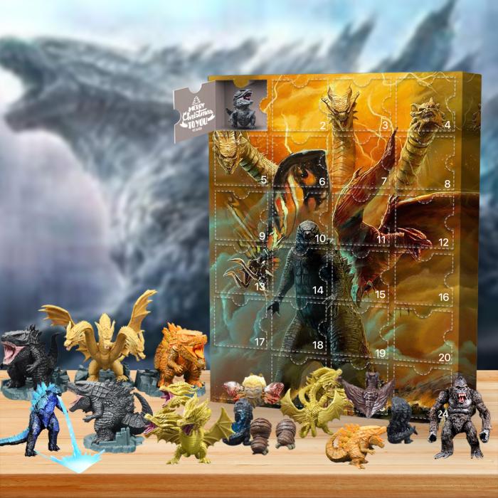 2021 Godzilla Advent Calendar -- The One With 24 Little Doors
