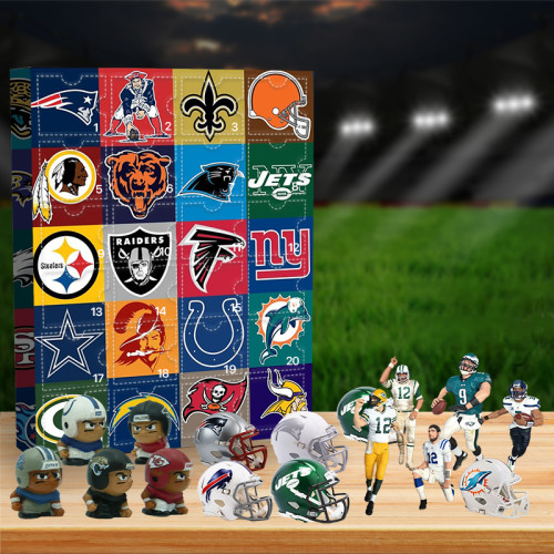 2021 NFL Advent Calendar -- The One With 24 Little Doors