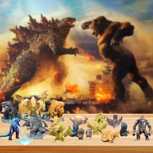 2021 Godzilla vs King Kong Advent Calendar -- The One With 24 Little Doors