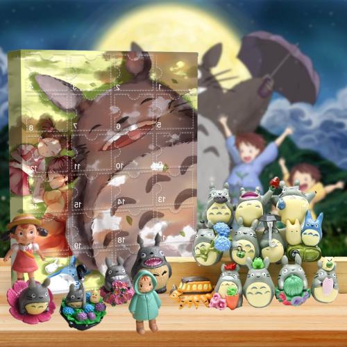 2021 My Neighbor Totoro Advent Calendar -- The One With 24 Little Doors