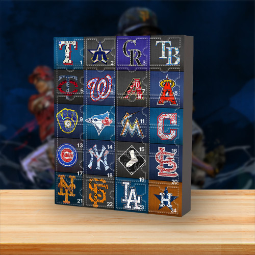 2021 MLB Advent Calendar -- The One With 24 Little Doors