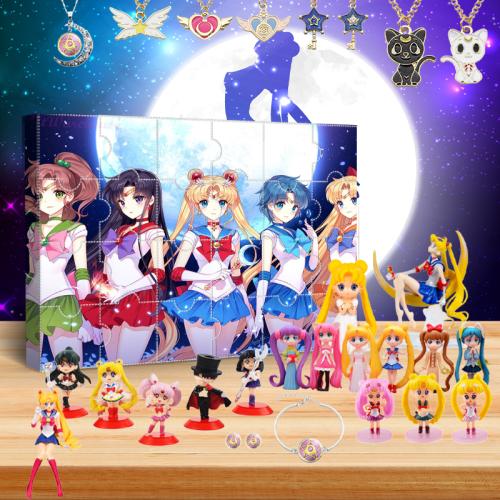 2021 Sailor Moon Advent Calendar -- The One With 24 Little Doors