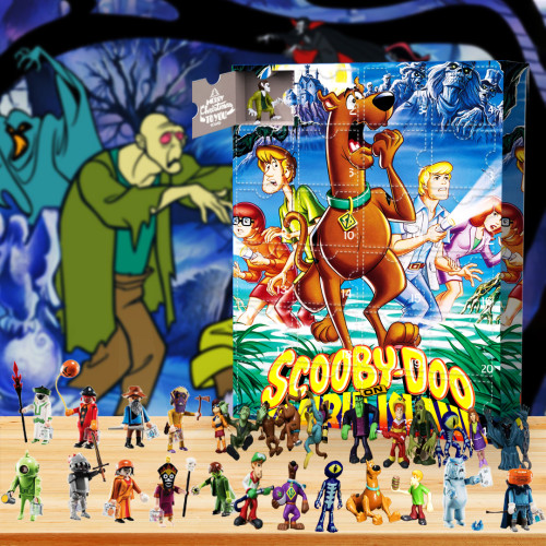 2021 Scooby Doo Advent Calendar -- The One With 24 Little Doors