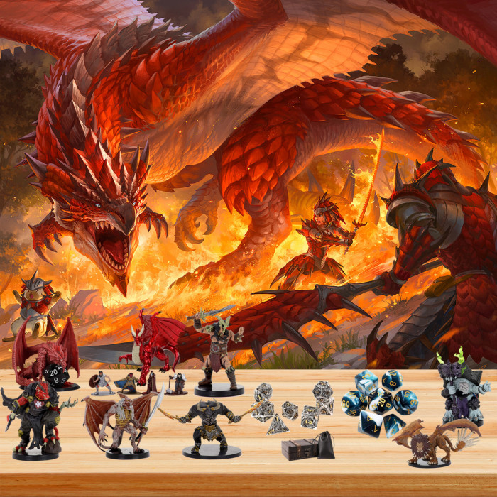Dungeons & Dragons Advent Calendar🎁24 Gifts Are In It