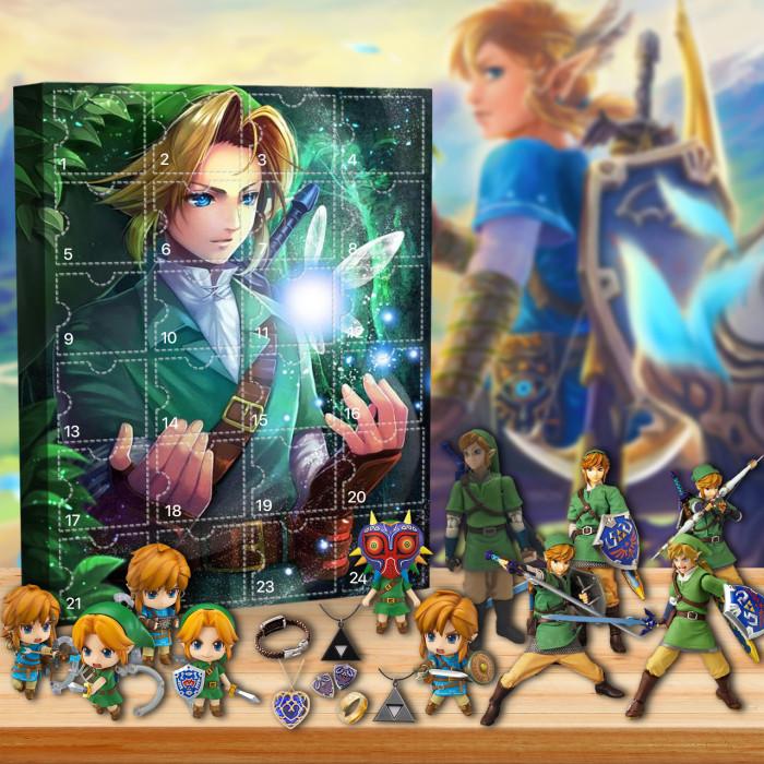 2021 Zelda Advent Calendar -- The One With 24 Little Doors