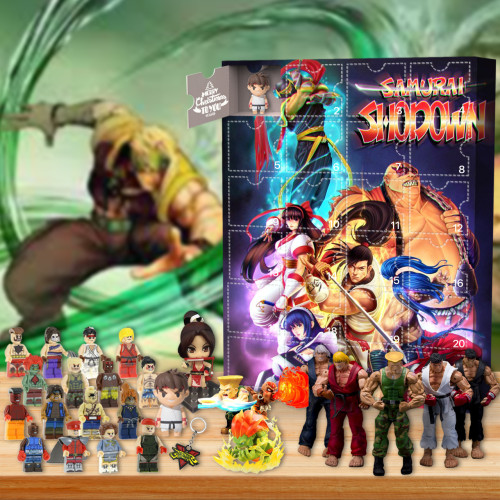 2021 Street Fighter Advent Calendar -- The One With 24 Little Doors