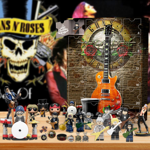 2021 Guns N' Roses Advent Calendar -- The One With 24 Little Doors