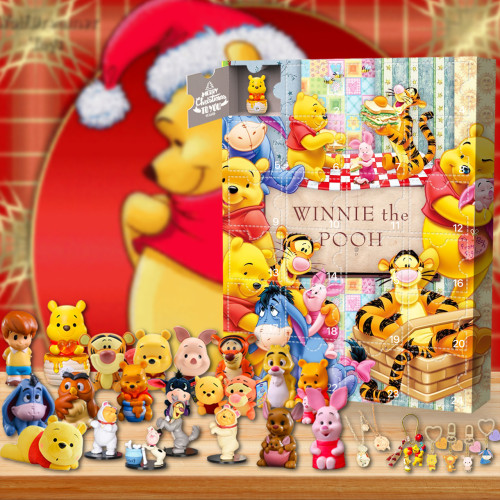 2021 Winnie the Pooh Advent Calendar -- The One With 24 Little Doors