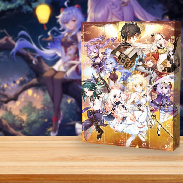 2021 Genshin Impact Advent Calendar -- The One With 24 Little Doors