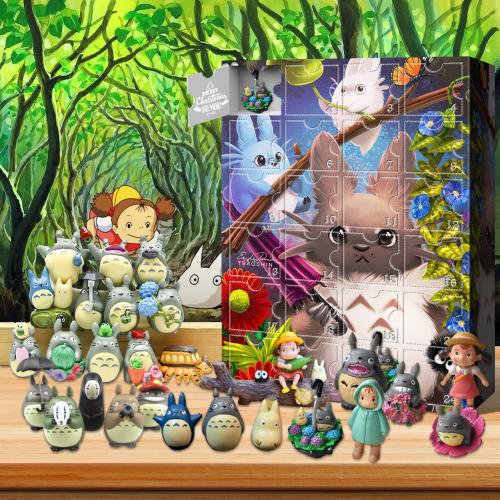 My Neighbor Totoro Advent Calendar -- The One With 24 Little Doors