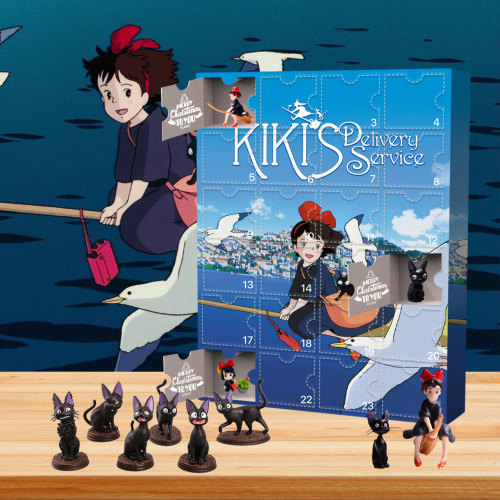 Kiki's Delivery Service Advent Calendar🎁24 Gifts Are In It
