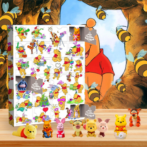 Winnie the Pooh Advent Calendar -- The One With 24 Little Doors