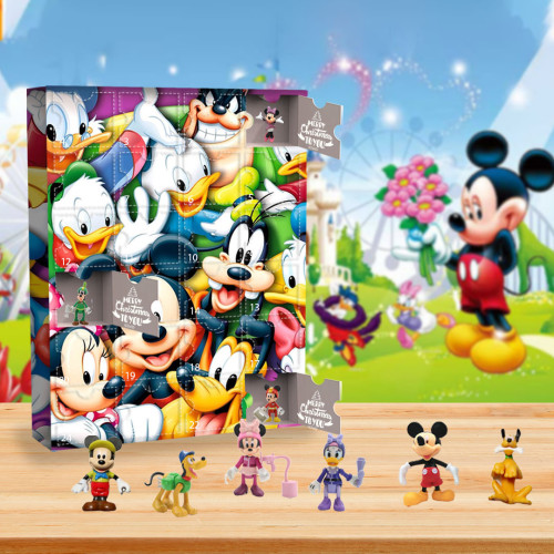 Mickey Mouse Advent Calendar -- The One With 24 Little Doors