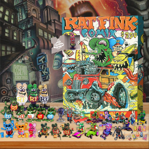 RAT FINK-Advent Calendar🎁24 Gifts Are In It
