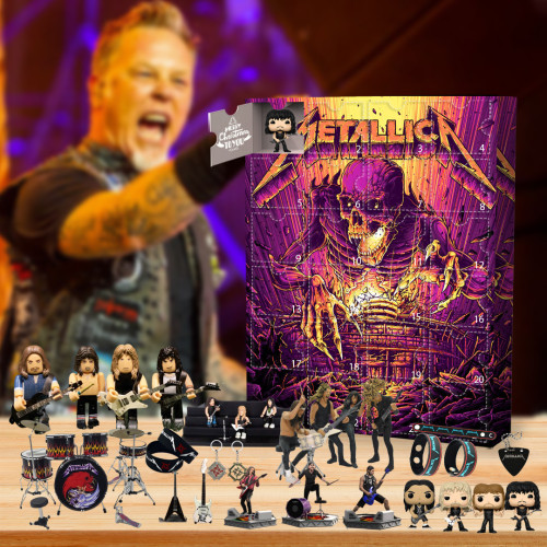 Metallica band Advent Calendar 2021-- The One With 24 Little Doors