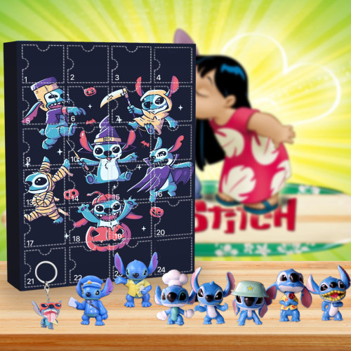 Halloween Stitch Advent Calendar🎁24 Gifts Are In It
