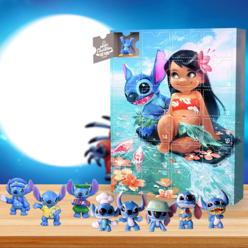 Stitch Advent Calendar🎁24 Gifts Are In It