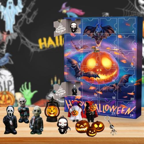 Halloween Advent Calendar -- The One With 24 Little Doors