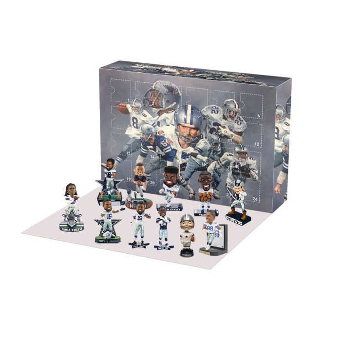 Dallas Cowboys Advent Calendar -- The One With 24 Little Doors