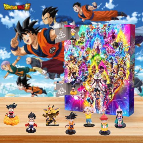 2021 Dragon Ball Advent Calendar -- The One With 24 Little Doors