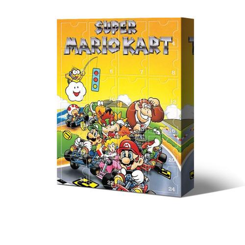 Super Mario Kart Advent Calendar -- The One With 24 Little Doors
