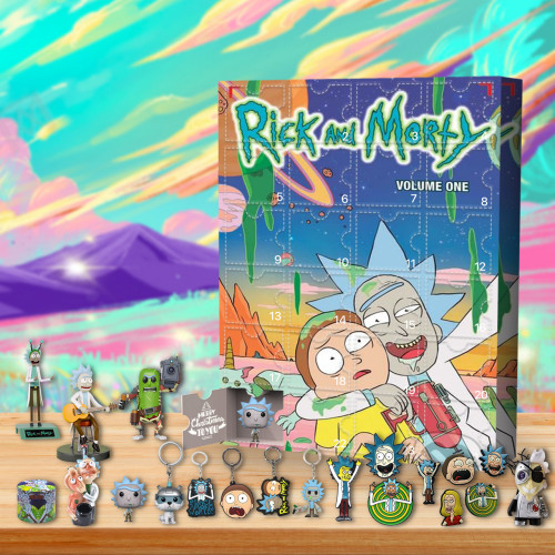 2021 Rick and Morty Advent Calendar -- The One With 24 Little Doors