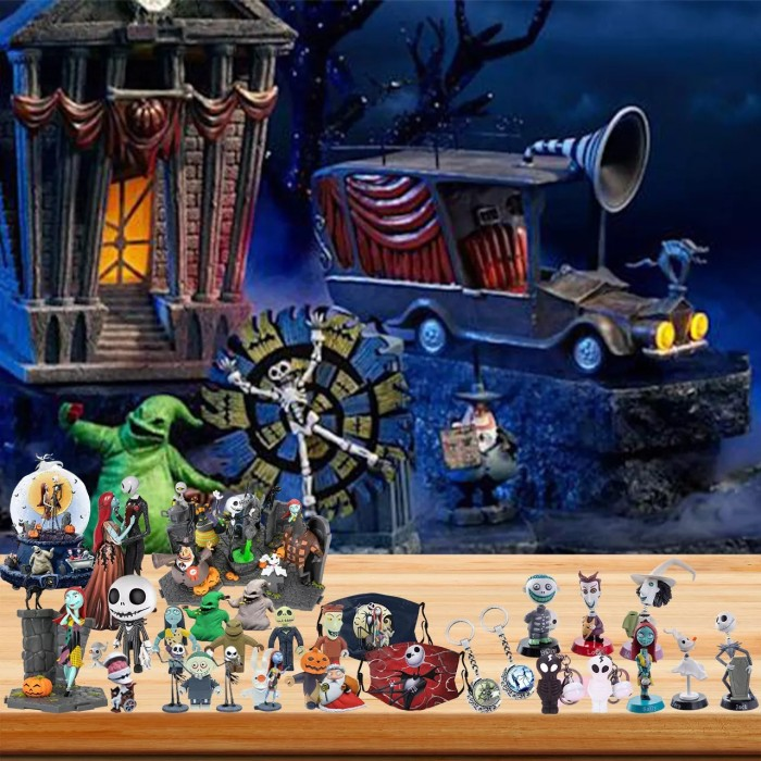 The Nightmare Before Christmas Advent Calendar- 🎁24 Gifts Are In It
