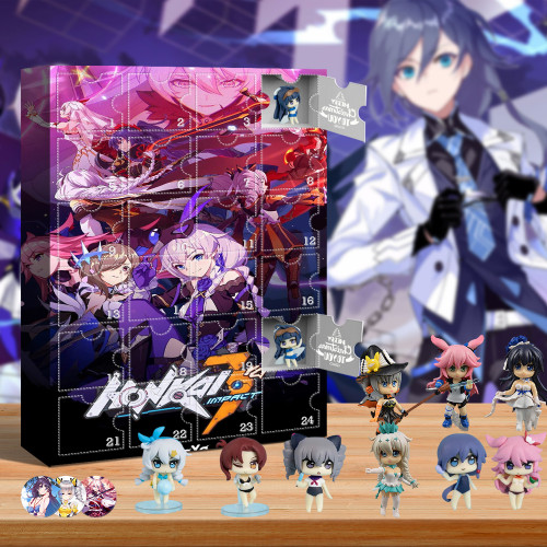 2021 Honkai Impact 3 Advent Calendar -- The One With 24 Little Doors