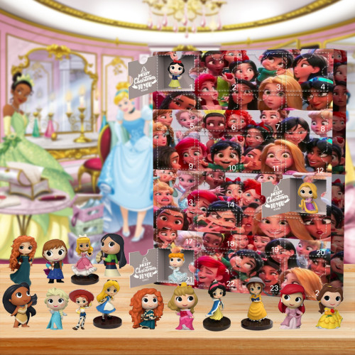 Disney Princess Advent Calendar🎁24 Gifts Are In It