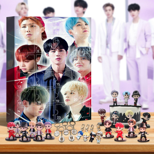 BTS Advent Calendar🎁24 Gifts Are In It