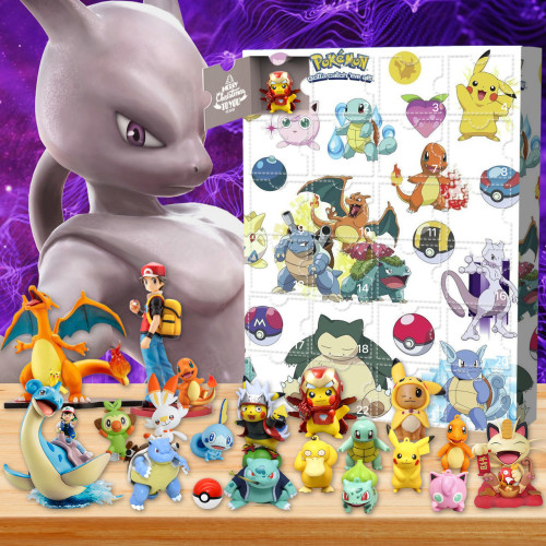 Pokémon Advent Calendar -- The One With 24 Little Doors