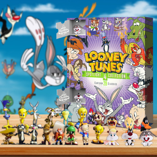 Looney Tunes Advent Calendar -- The One With 24 Little Doors