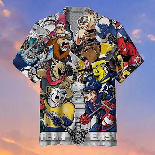 Eastern League and Western League battle Hawaiian Shirts